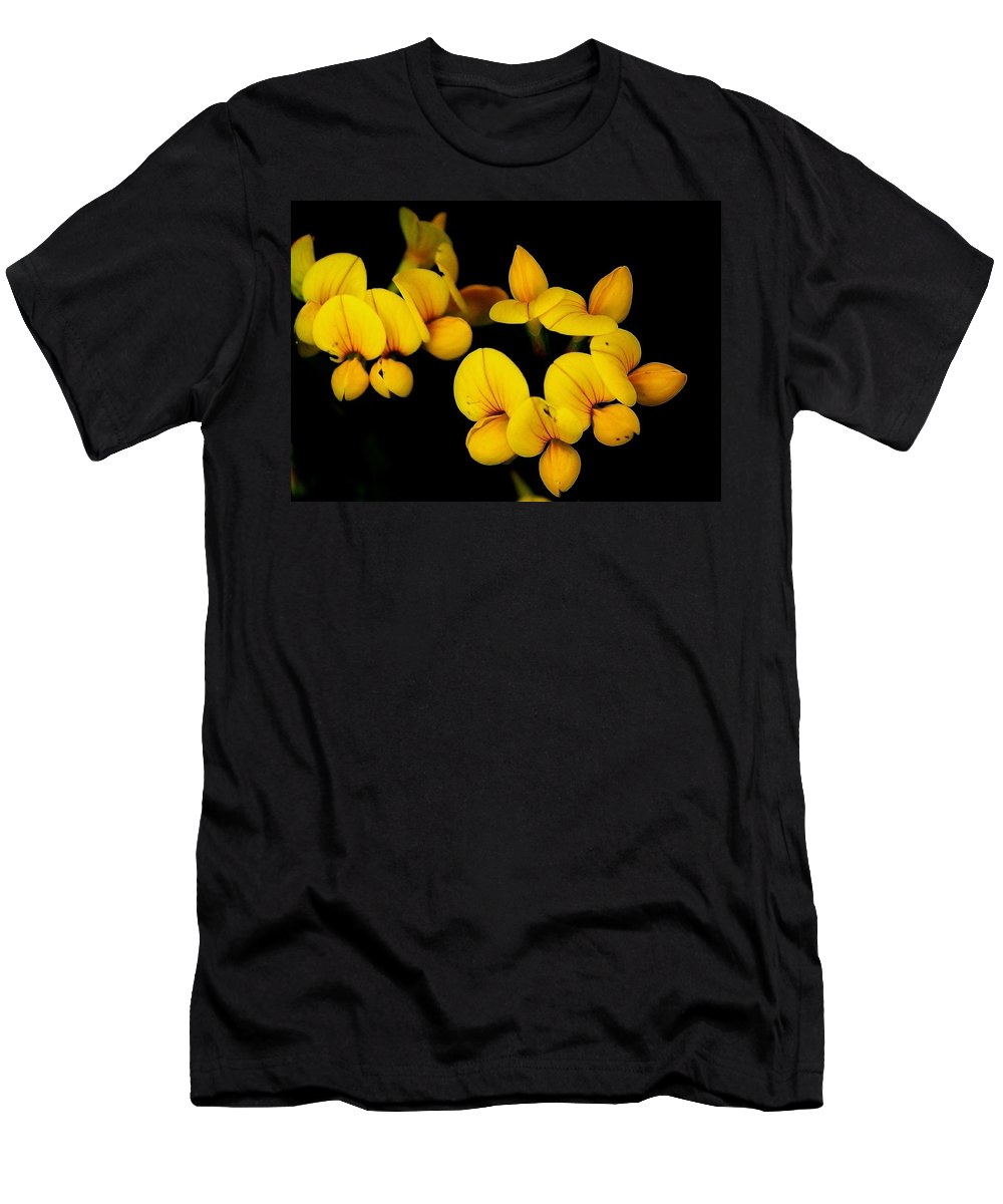 Digital Photography Men's T-Shirt (Athletic Fit) featuring the photograph A Study In Yellow by David Lane