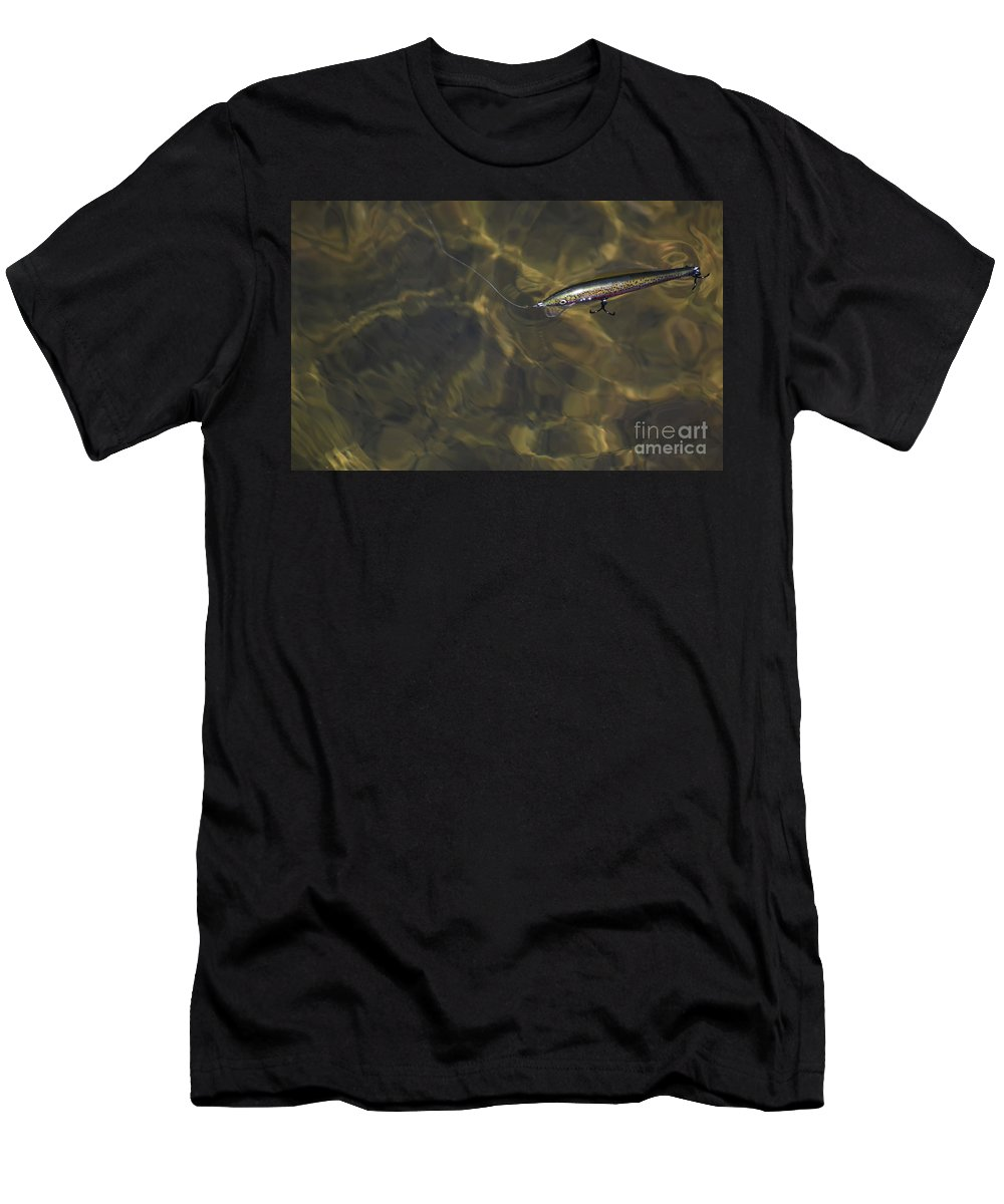 Culture Men's T-Shirt (Athletic Fit) featuring the photograph A Working Lure by Skip Willits