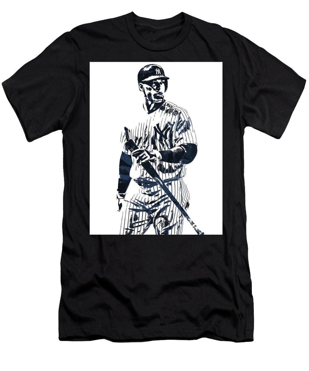 official photos 1e76a bbdb9 Aaron Judge New York Yankees Pixel Art 12 Men's T-Shirt (Athletic Fit)