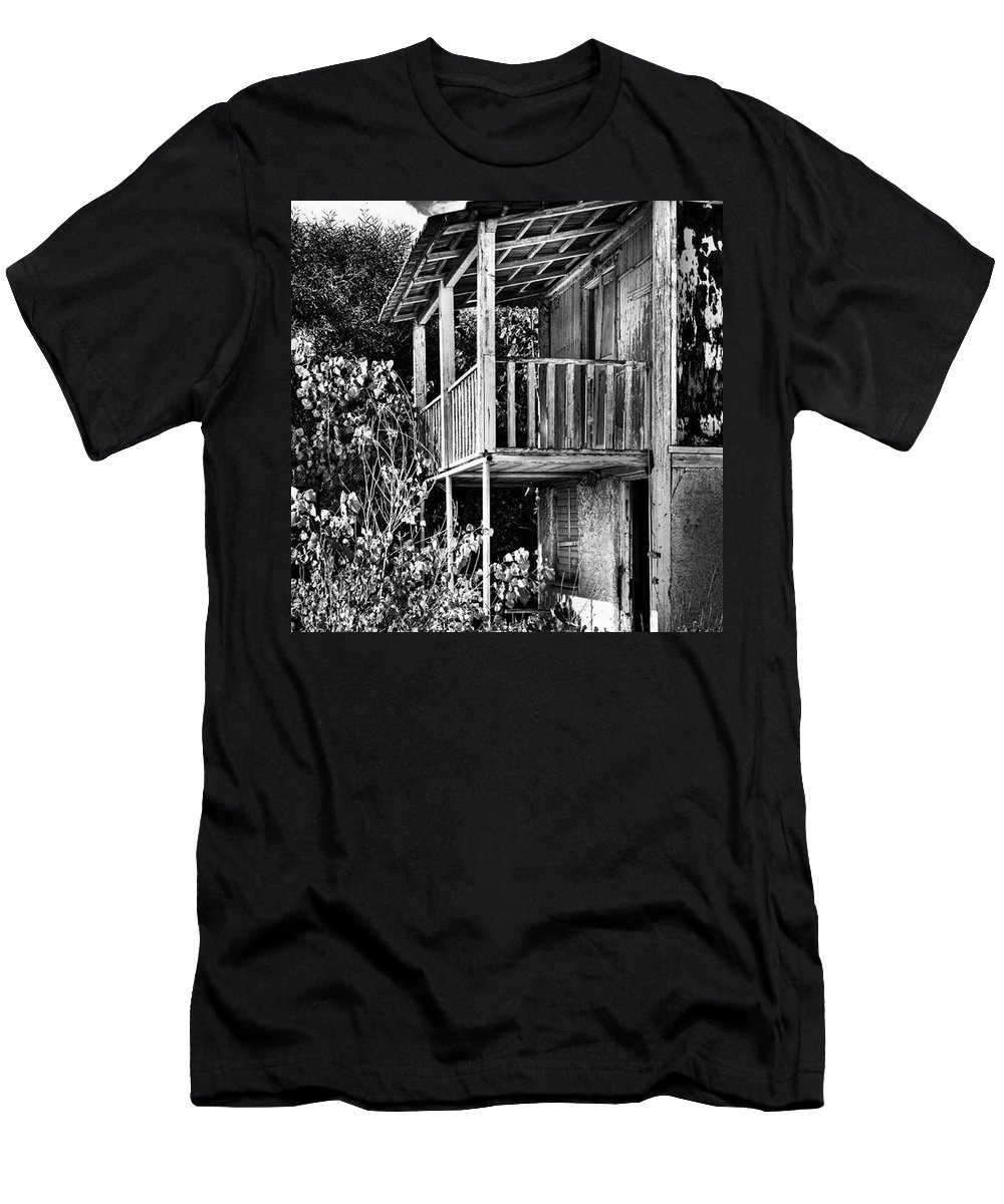 Amazing T-Shirt featuring the photograph Abandoned, Kalamaki, Zakynthos by John Edwards