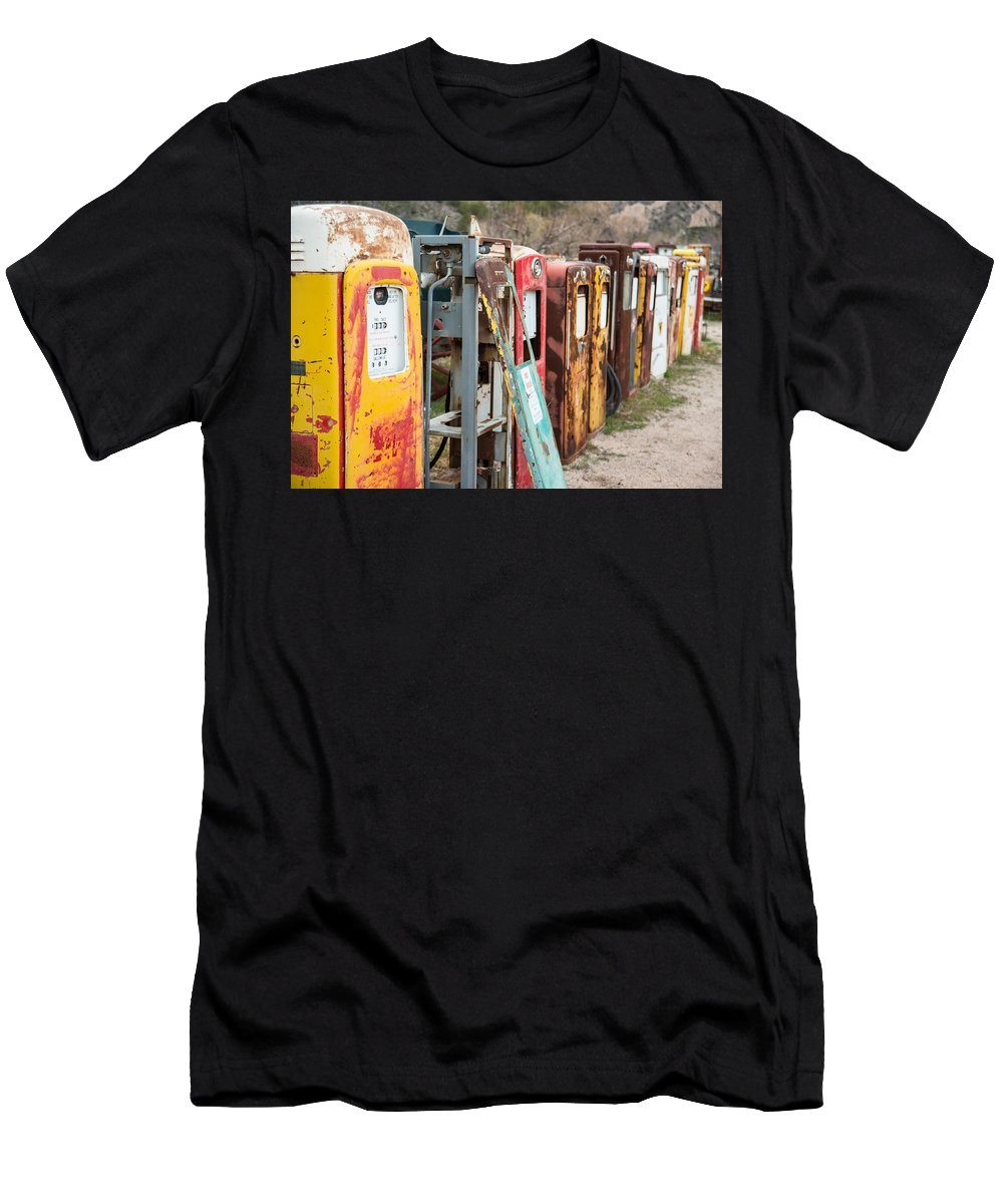 Vintage Men's T-Shirt (Athletic Fit) featuring the photograph Abandoned by Lynn Allen Images