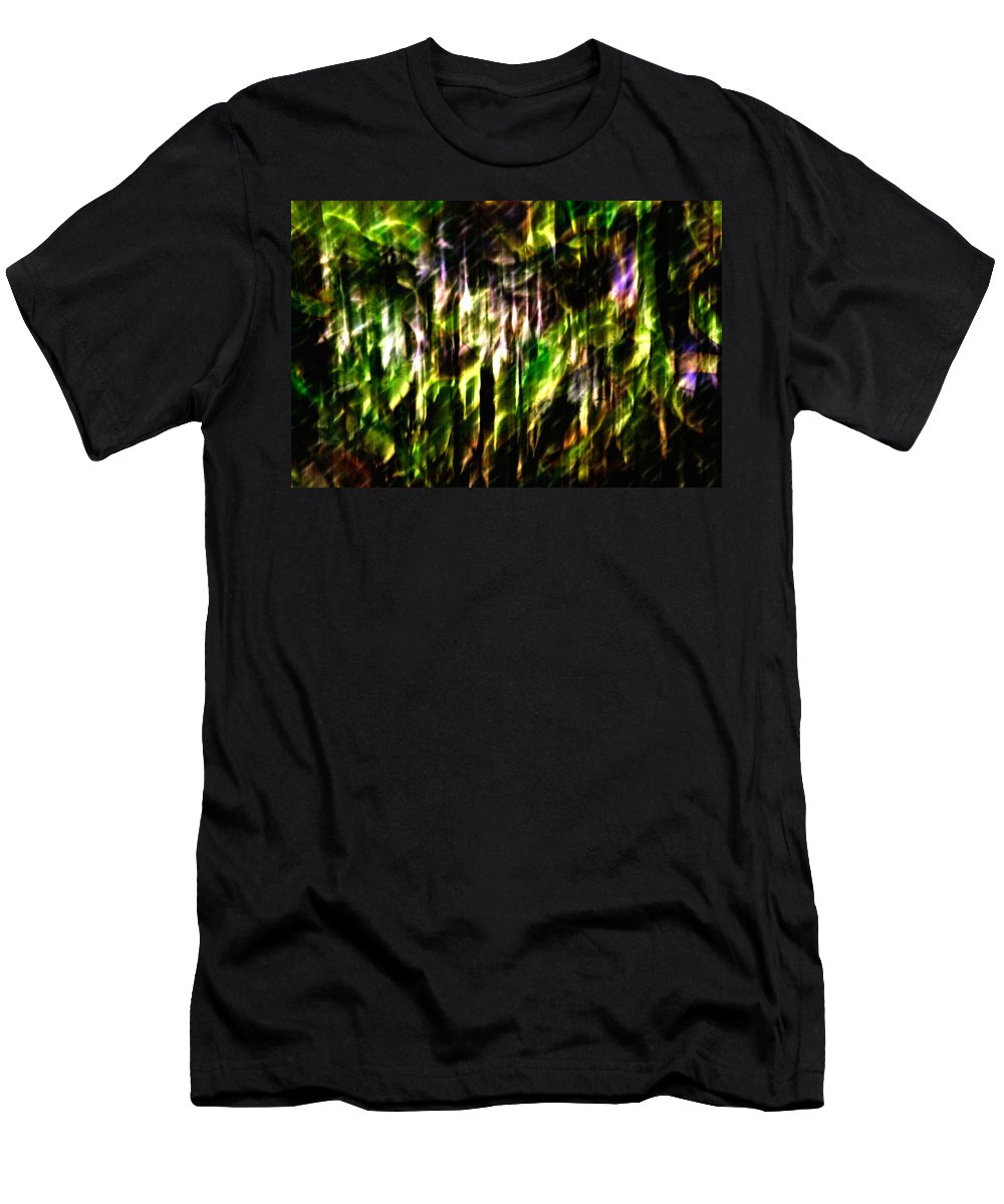Abstract Men's T-Shirt (Athletic Fit) featuring the photograph Abscond Squall by Scott Wyatt