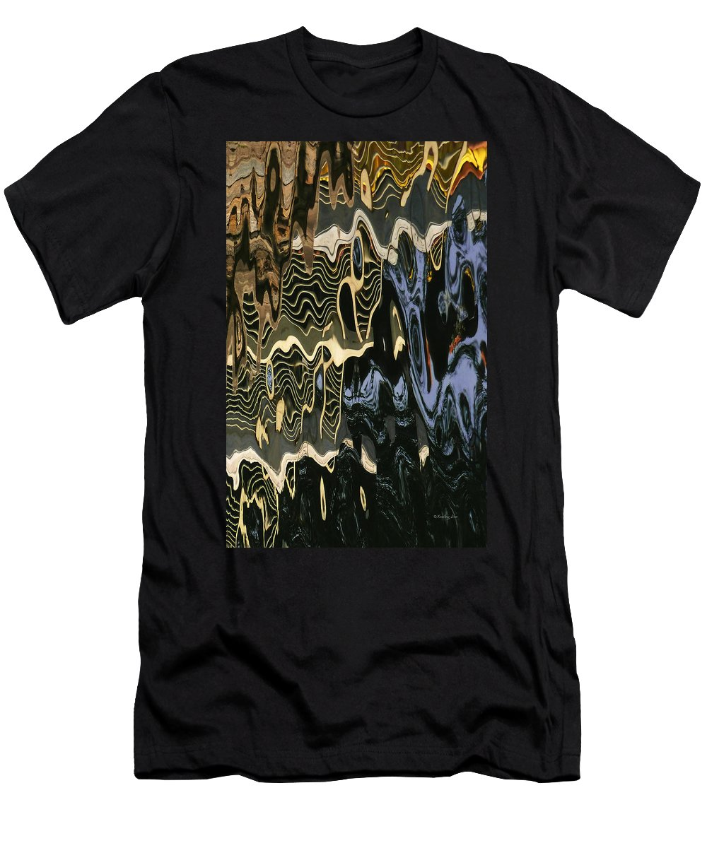 An Abstract Men's T-Shirt (Athletic Fit) featuring the photograph Abstract 13 by Xueling Zou