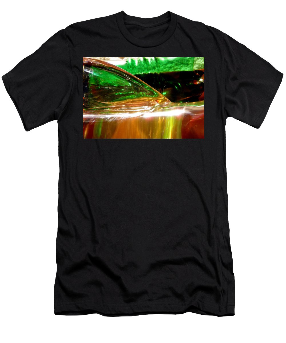 Abstract Men's T-Shirt (Athletic Fit) featuring the photograph Abstract 381 by Stephanie Moore