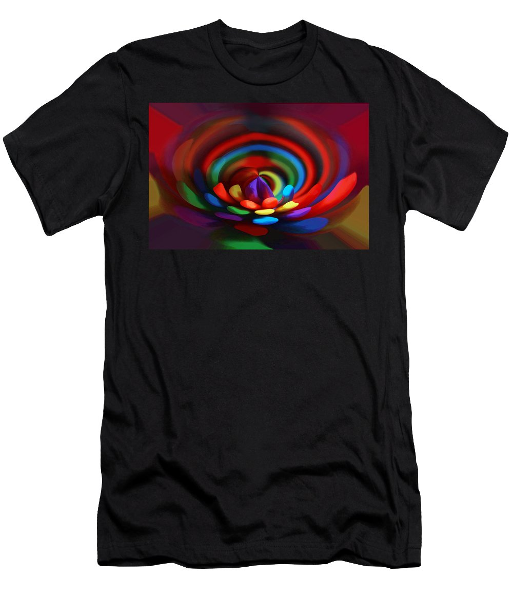 Digital Art Men's T-Shirt (Athletic Fit) featuring the digital art Abstract 4 by Sue Masterson