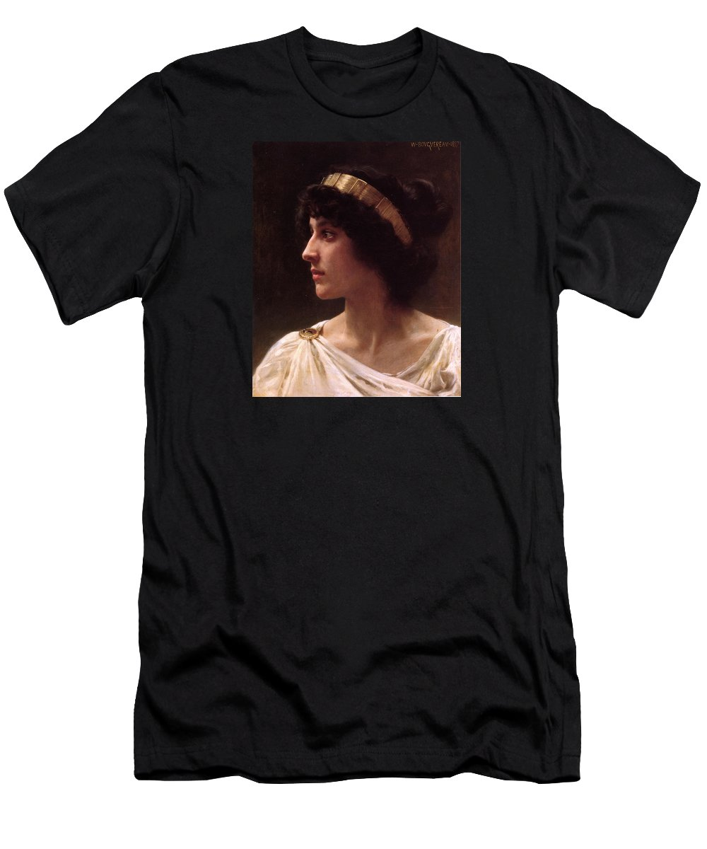 L'innocence Men's T-Shirt (Athletic Fit) featuring the painting L'innocence by William-Adolphe Bouguereau