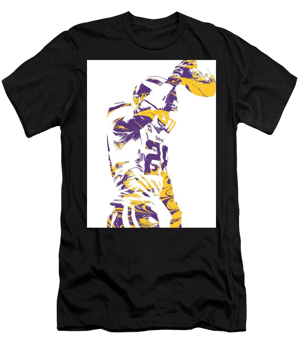 outlet store 337d7 507e6 Adrian Peterson Minnesota Vikings Pixel Art 5 Men's T-Shirt (Athletic Fit)
