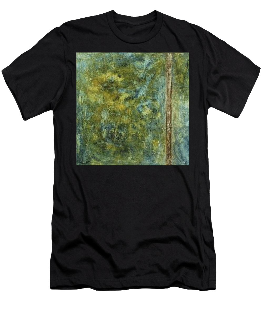 Men's T-Shirt (Athletic Fit) featuring the painting Adriatica by Vanessa Grant