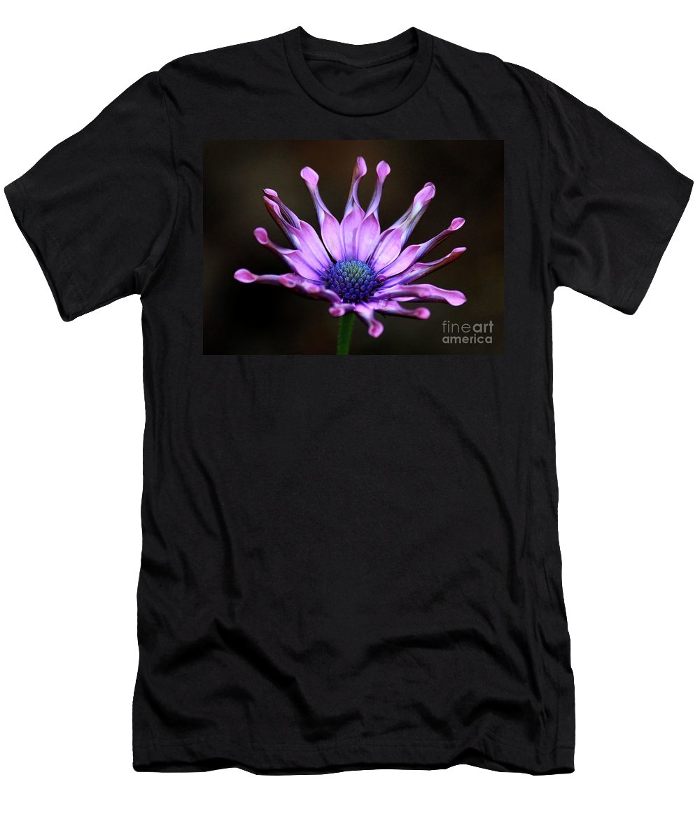 Nature Men's T-Shirt (Athletic Fit) featuring the photograph African Daisy Portrait by Carol Groenen