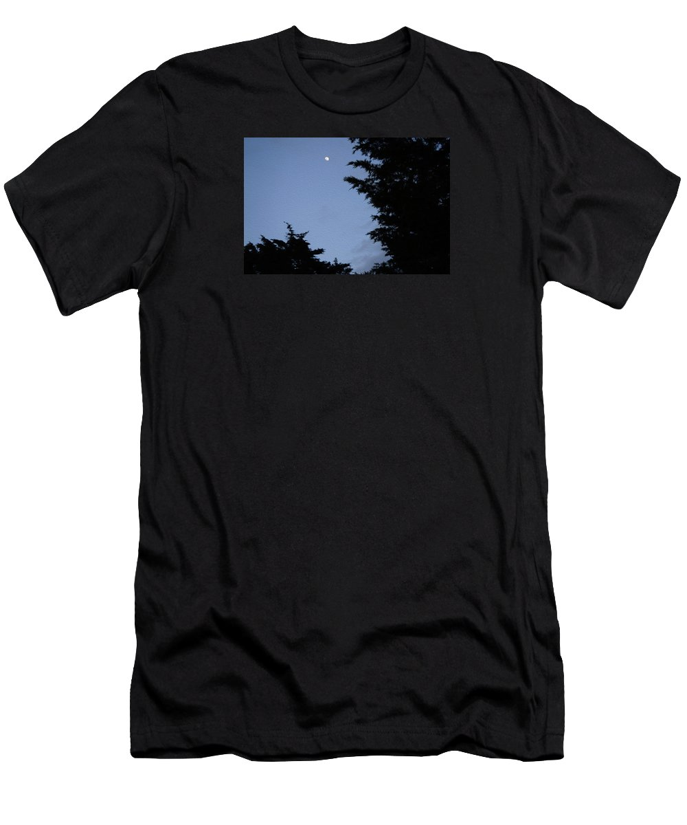 Art Men's T-Shirt (Athletic Fit) featuring the mixed media After Moonlight by Ryan Fox