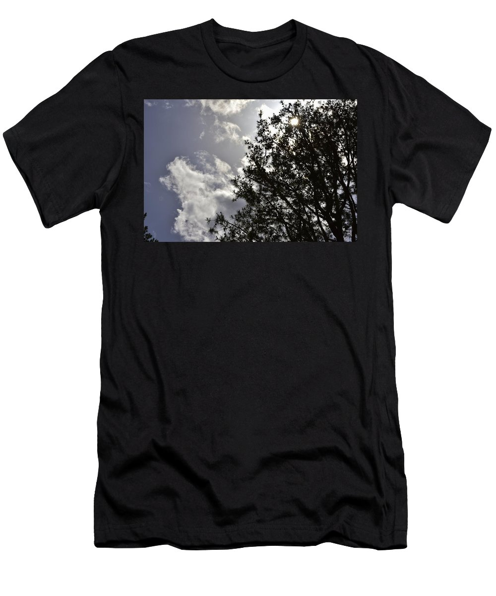 Linda Brody Men's T-Shirt (Athletic Fit) featuring the photograph After The Rain V by Linda Brody