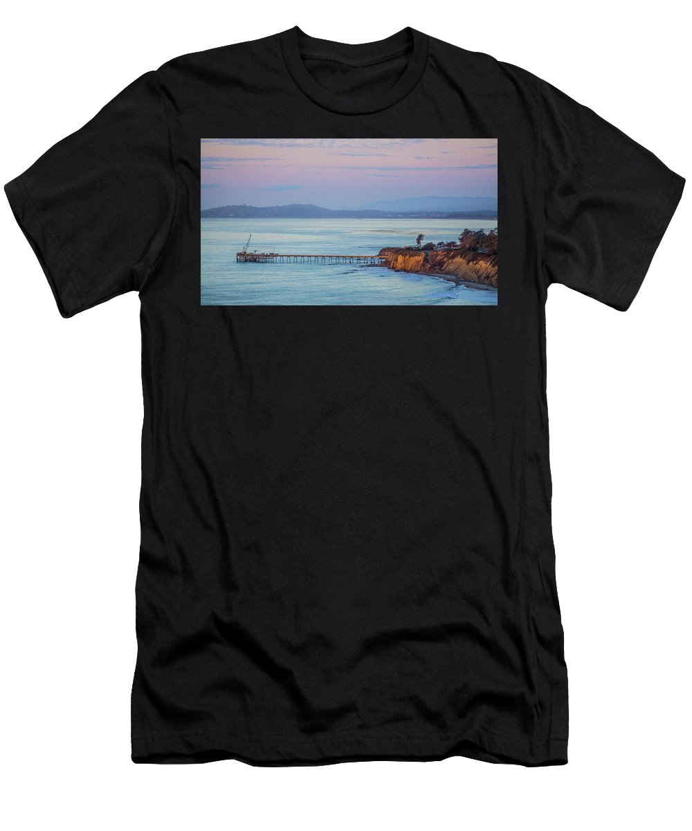 Men's T-Shirt (Athletic Fit) featuring the photograph Afternoon Glow by John Pierpont