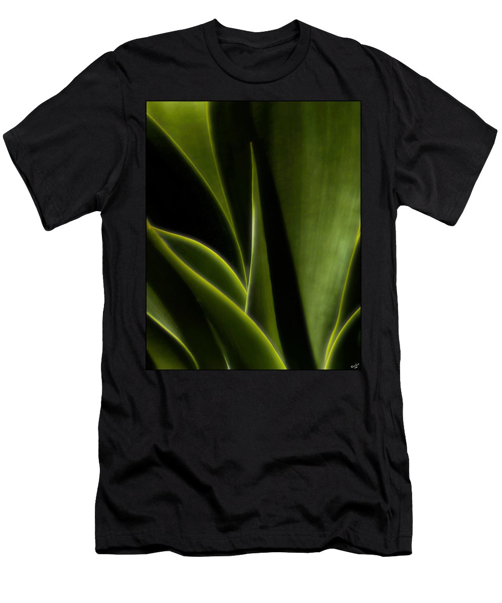 Agave Men's T-Shirt (Athletic Fit) featuring the photograph Agave by Chris Lord