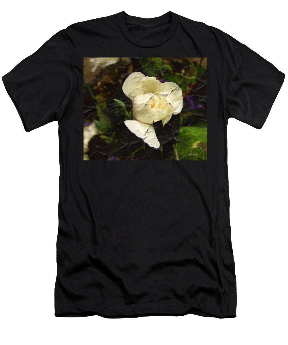 Ged Men's T-Shirt (Athletic Fit) featuring the digital art Age Cannot Wither by RC DeWinter