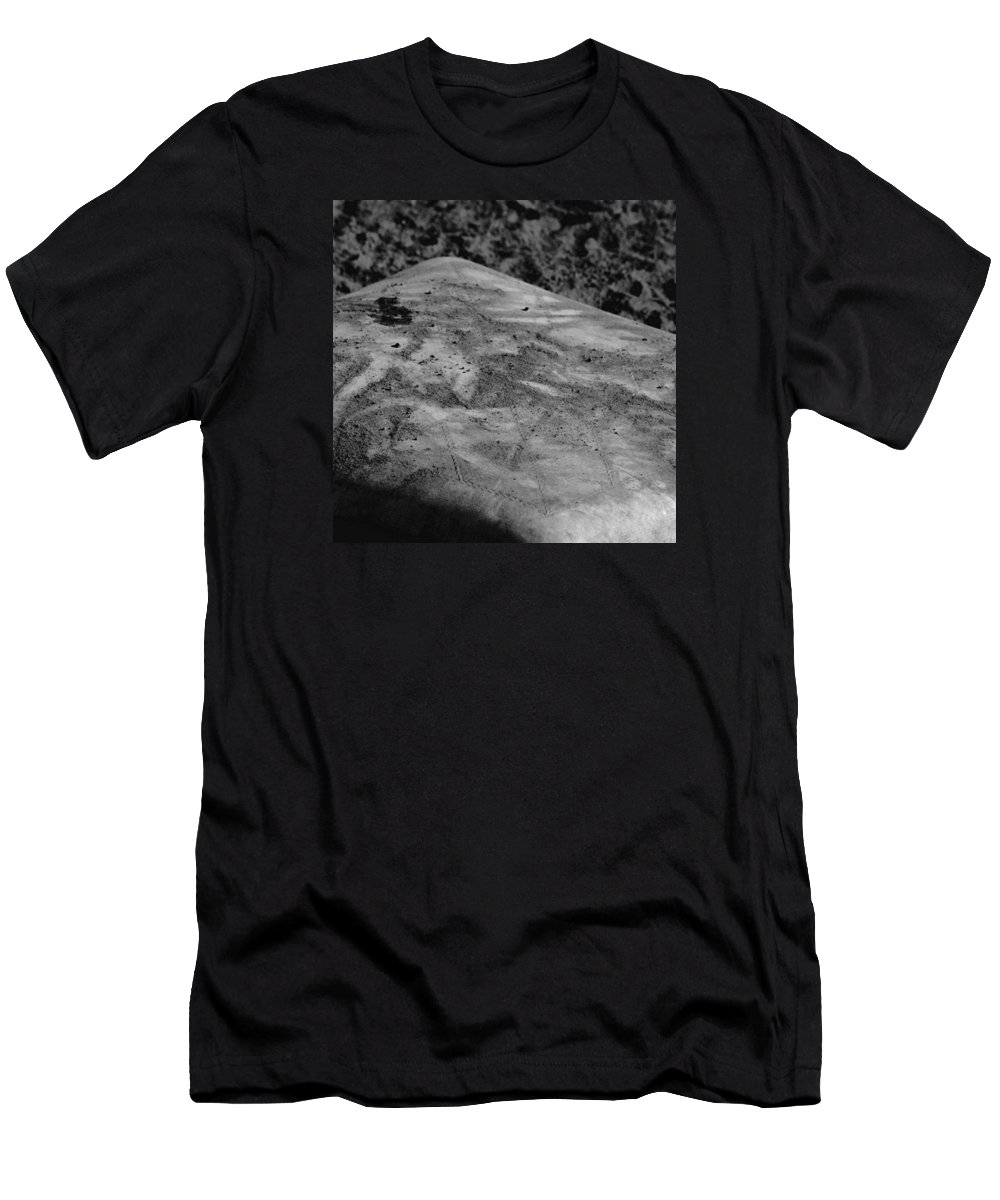 Baseball Men's T-Shirt (Athletic Fit) featuring the photograph Almost Home  by Leah McPhail