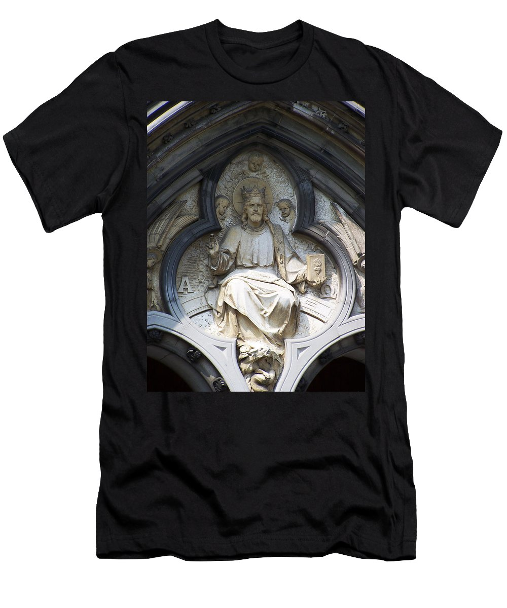 Ireland Men's T-Shirt (Athletic Fit) featuring the photograph Alpha And Omega by Teresa Mucha