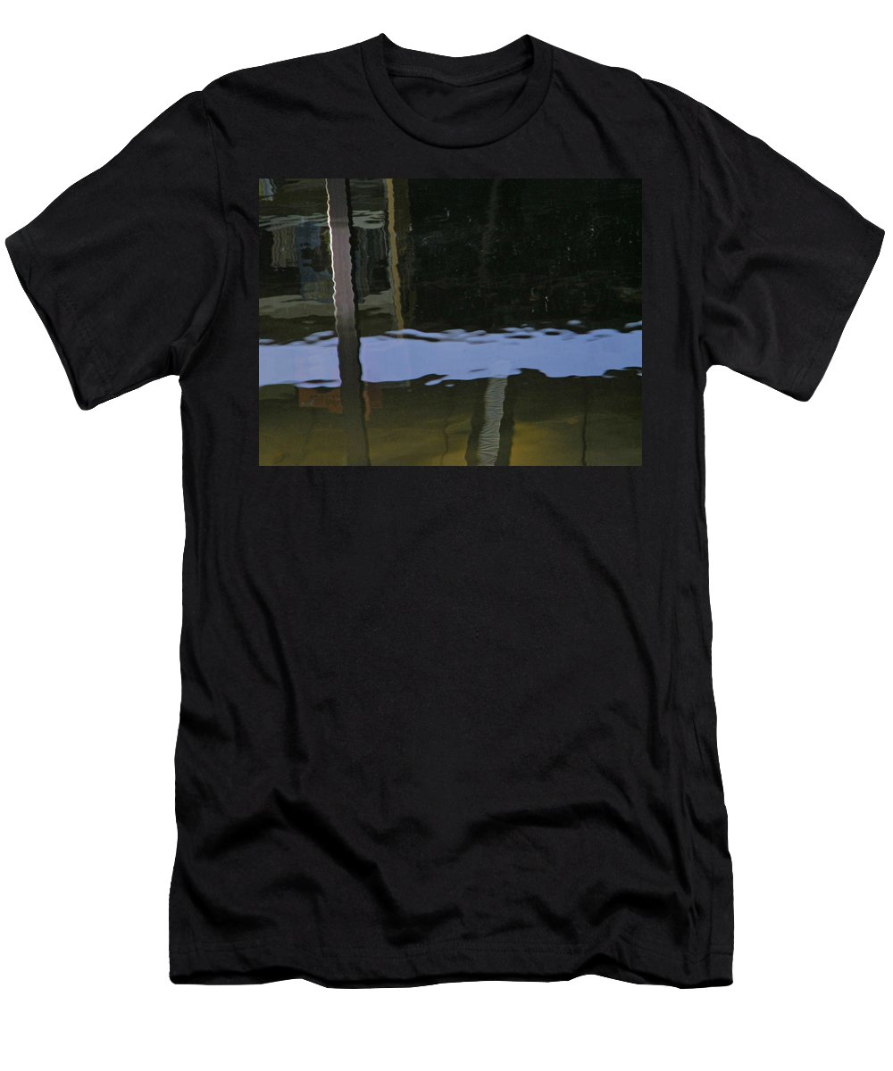 Abstract Men's T-Shirt (Athletic Fit) featuring the photograph Alternate Reality 14 by Lenore Senior