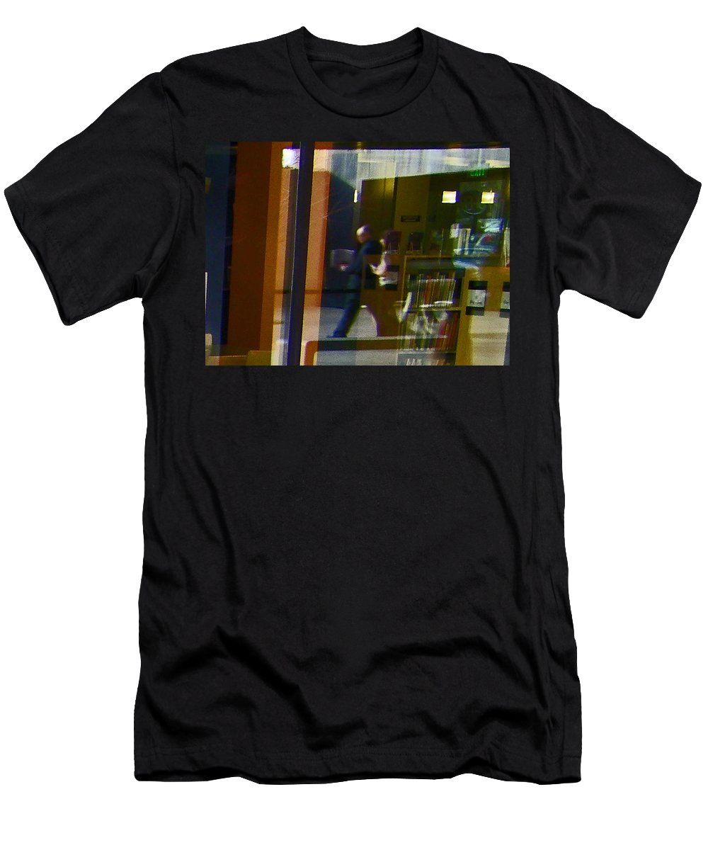 Abstract Men's T-Shirt (Athletic Fit) featuring the photograph Alternate Reality 2 by Lenore Senior
