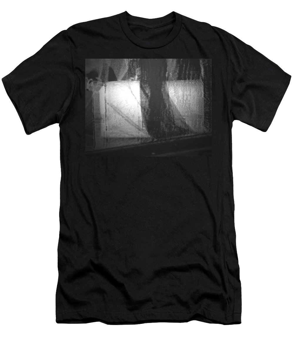 Abstract Men's T-Shirt (Athletic Fit) featuring the digital art Alternate Reality 4-2 by Lenore Senior