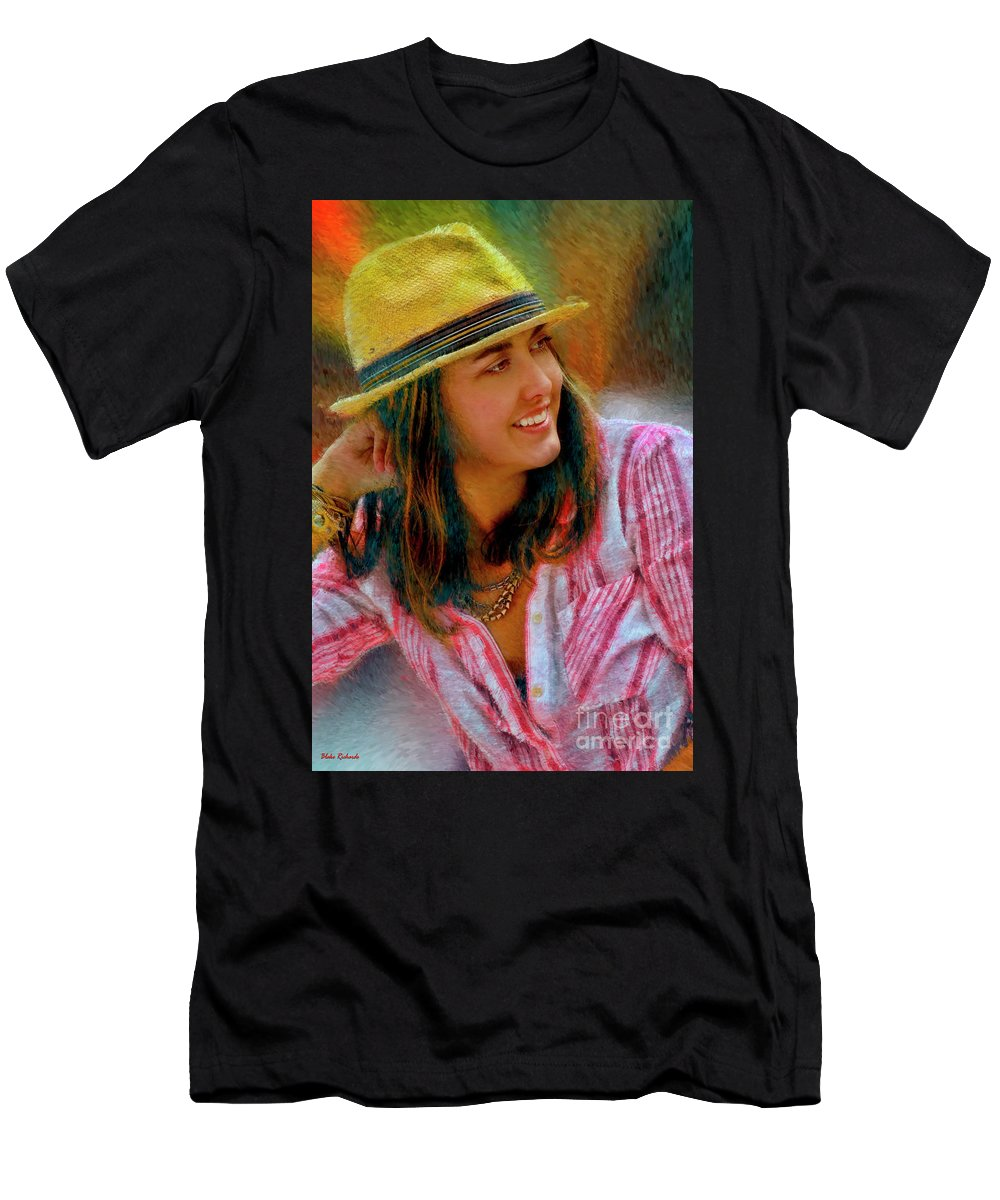Jessica Mankin Men's T-Shirt (Athletic Fit) featuring the photograph Jessica Mankin by Blake Richards