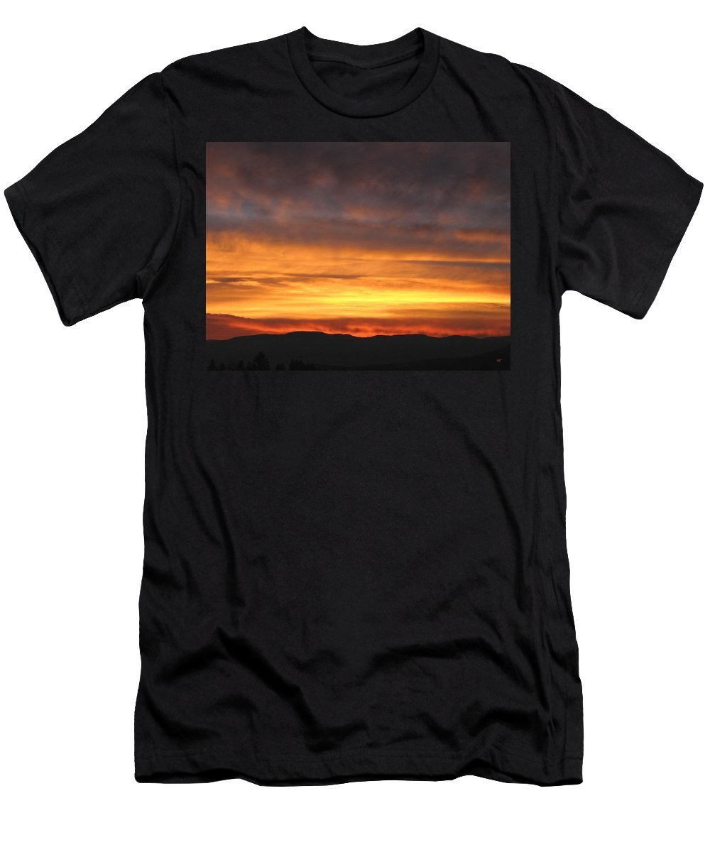 Sky Men's T-Shirt (Athletic Fit) featuring the photograph An Astounding Sky by Will Borden