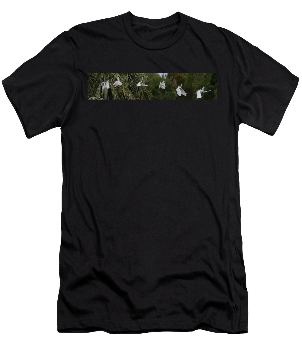 Nature Men's T-Shirt (Athletic Fit) featuring the digital art Anatomy Of Flight 2 by William Horden