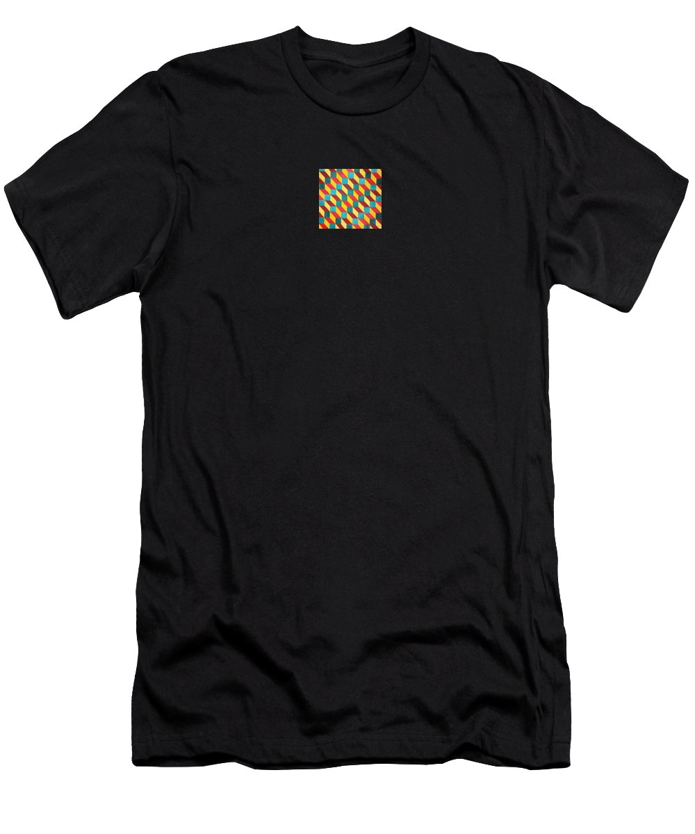 Rasta Art T-Shirt featuring the painting Ancient Rasta by Andrew Johnson