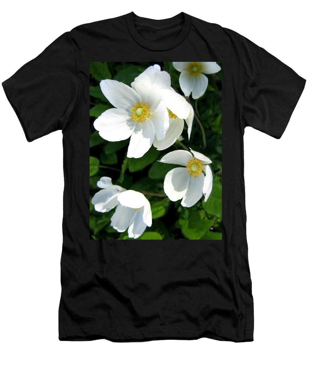 Anemones Men's T-Shirt (Athletic Fit) featuring the photograph Anemones by Will Borden