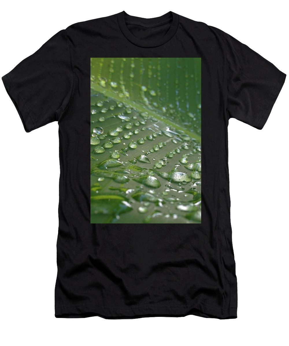 Rain Men's T-Shirt (Athletic Fit) featuring the photograph Anew by Sarah Horton