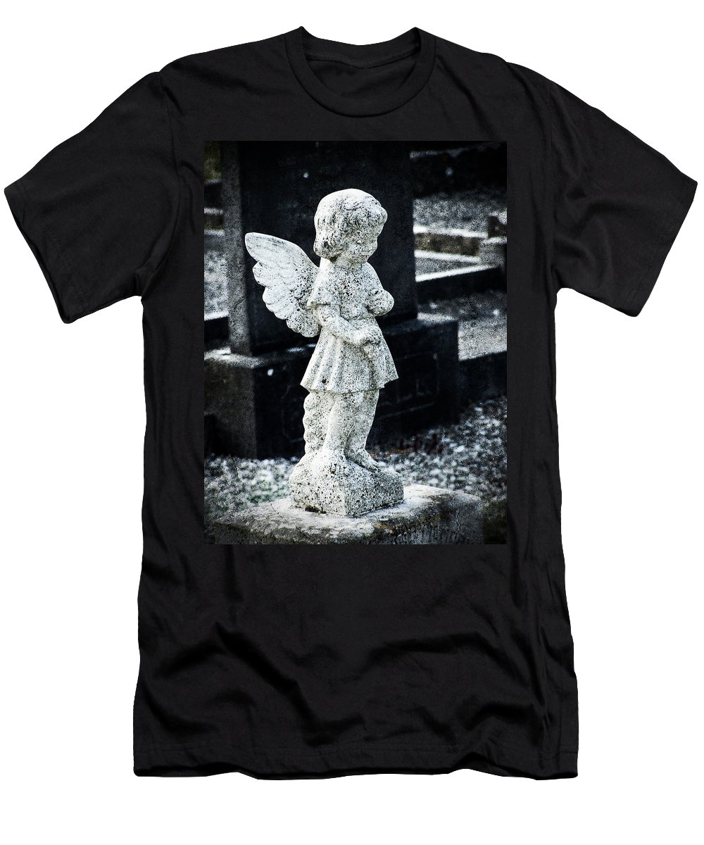 Ireland Men's T-Shirt (Athletic Fit) featuring the photograph Angel In Roscommon No 3 by Teresa Mucha