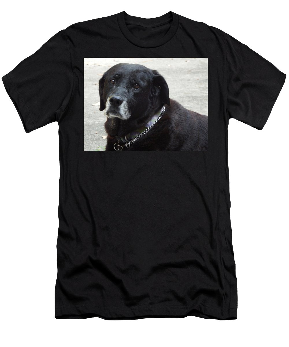 Men's T-Shirt (Athletic Fit) featuring the photograph Angie by Mark Dibble