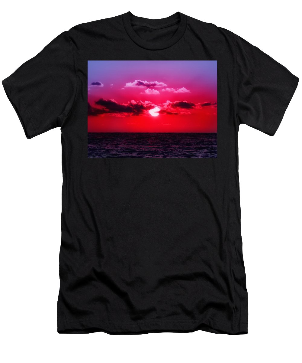 Sunset Men's T-Shirt (Athletic Fit) featuring the photograph Another Day Another Sunset by Bill Cannon