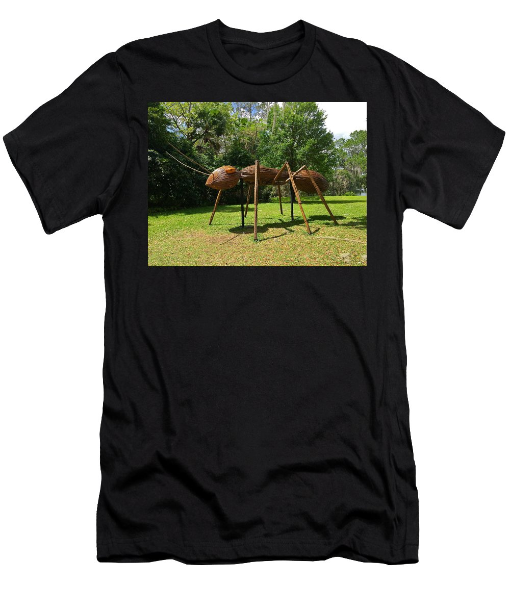 Ant Men's T-Shirt (Athletic Fit) featuring the photograph Ant by Denise Mazzocco