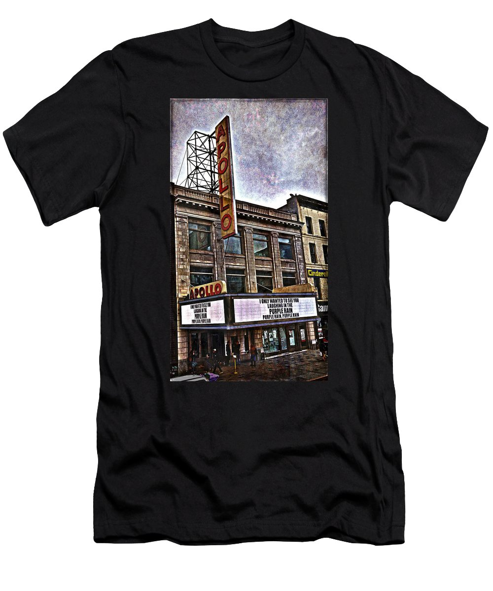 Apollo Theatre T-Shirt featuring the photograph Apollo Theatre, Harlem by Joan Reese