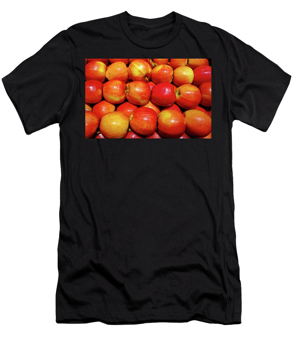 Apples Men's T-Shirt (Athletic Fit) featuring the photograph Apples by Robert Meyers-Lussier