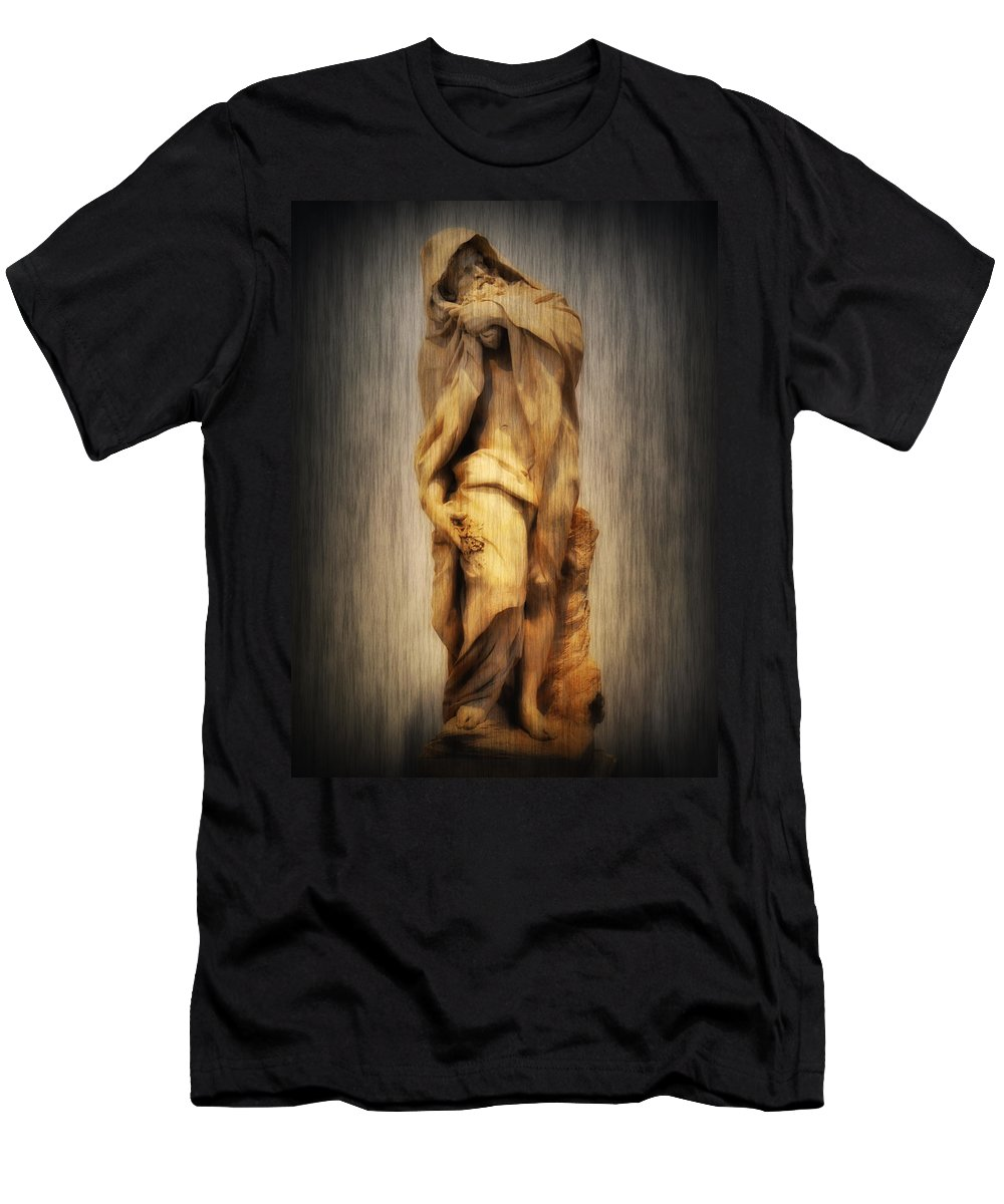 Aqualung Men's T-Shirt (Athletic Fit) featuring the photograph Aqualung by Bill Cannon