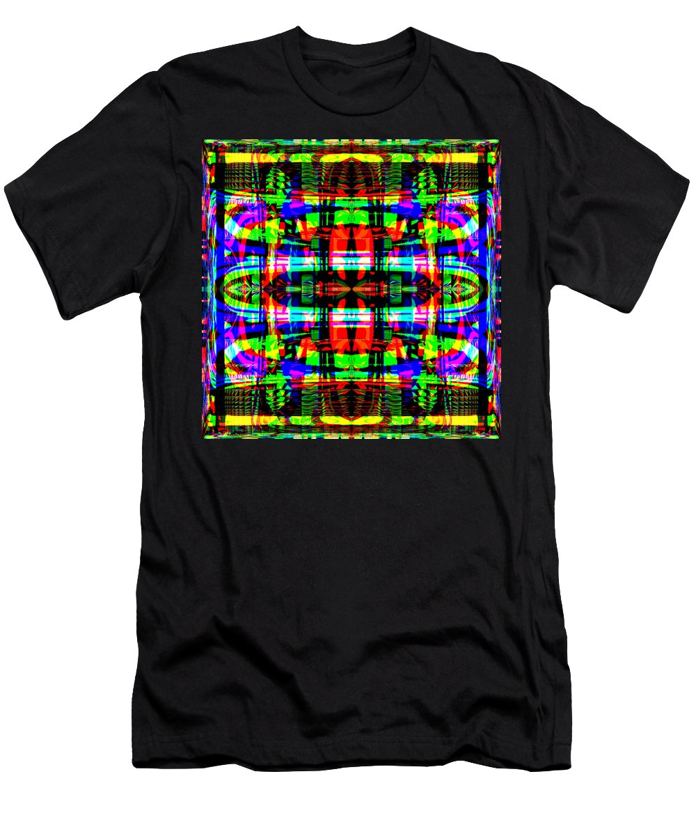 Digital Men's T-Shirt (Athletic Fit) featuring the digital art Arca by Blind Ape Art