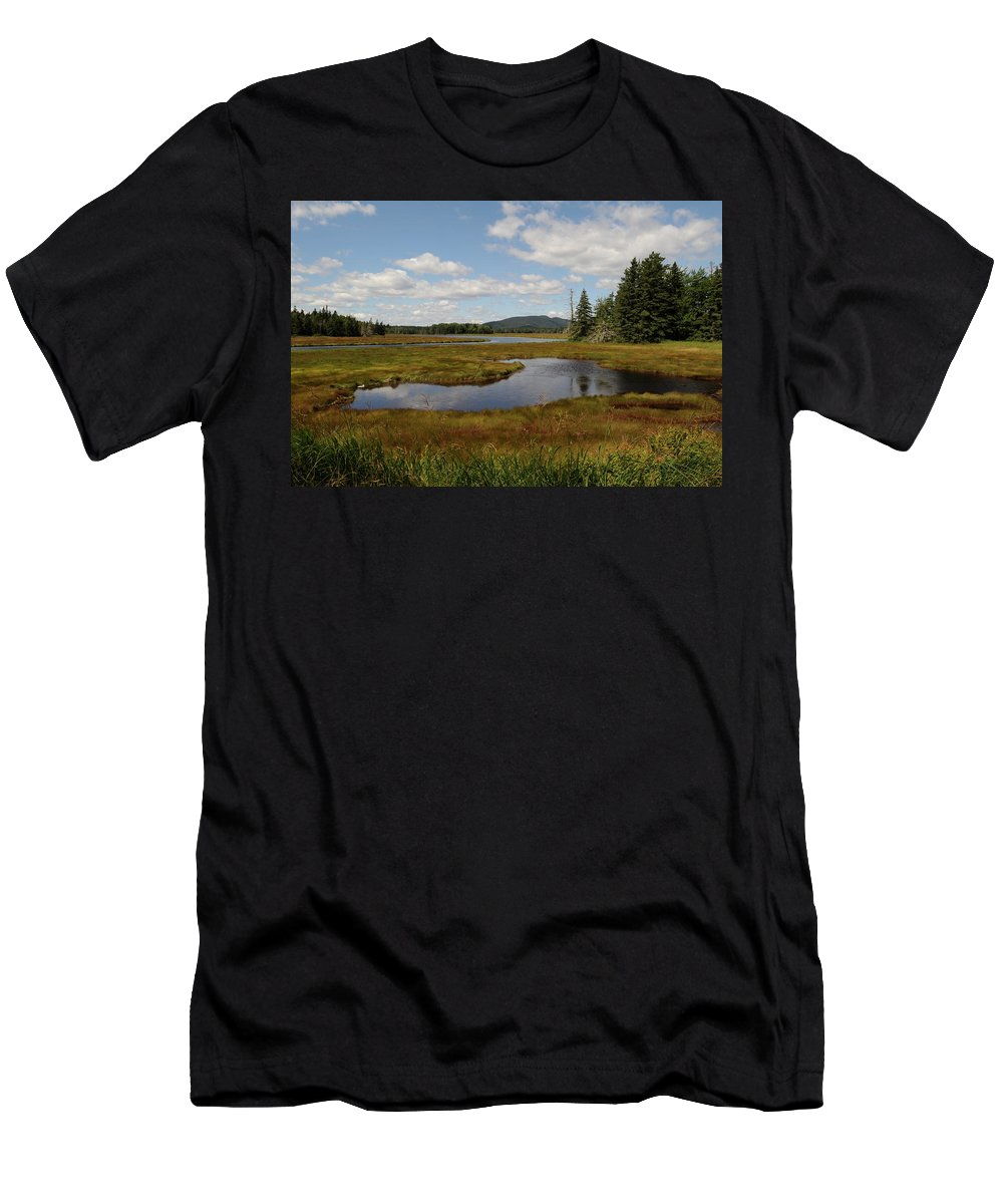 State Park Men's T-Shirt (Athletic Fit) featuring the photograph Arcadia Maine 2 by Joseph T Farriella