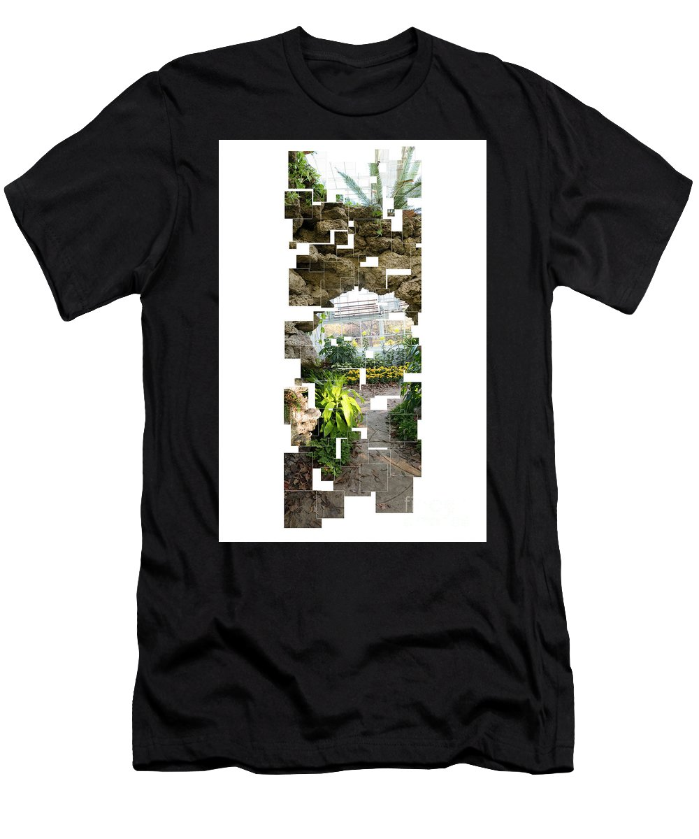Landscape Men's T-Shirt (Athletic Fit) featuring the photograph Archway by Christopher Erickson