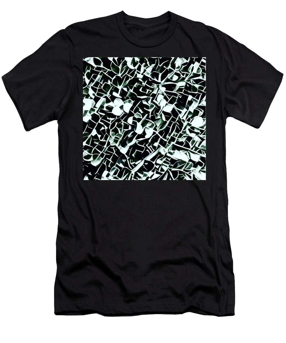 Photooftheday Men's T-Shirt (Athletic Fit) featuring the photograph #art #illustration #drawing #draw by The Ivy Mike