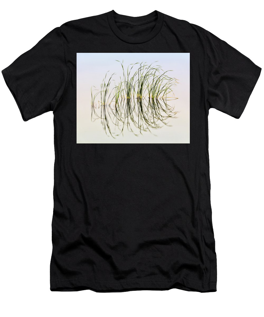 Bill Kesler Photography Men's T-Shirt (Athletic Fit) featuring the photograph Graceful Grass by Bill Kesler