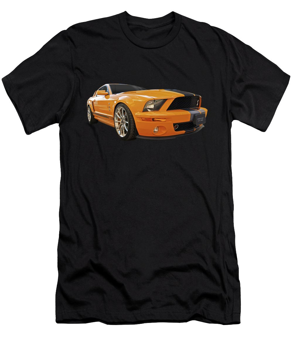 Shelby Mustang T-Shirt featuring the photograph Cobra Power - Shelby GT500 Mustang by Gill Billington