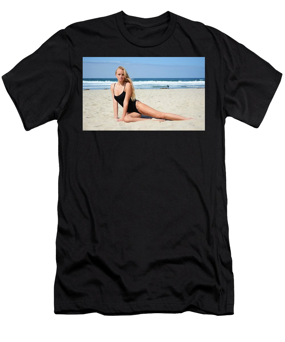 Fashion Men's T-Shirt (Athletic Fit) featuring the photograph Ash313 by Remegio Dalisay