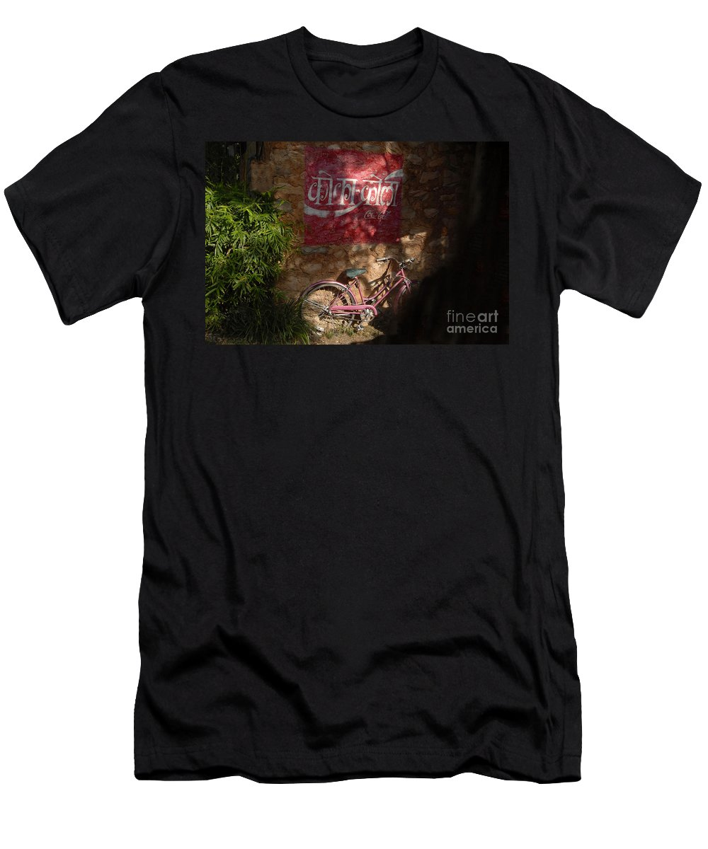 Asia Men's T-Shirt (Athletic Fit) featuring the photograph Asia by David Lee Thompson