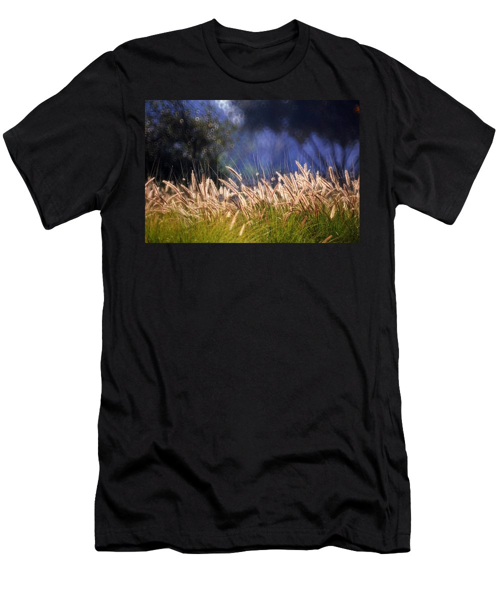 Nature Men's T-Shirt (Athletic Fit) featuring the photograph At The Rock Garden Tel Aviv by Dubi Roman