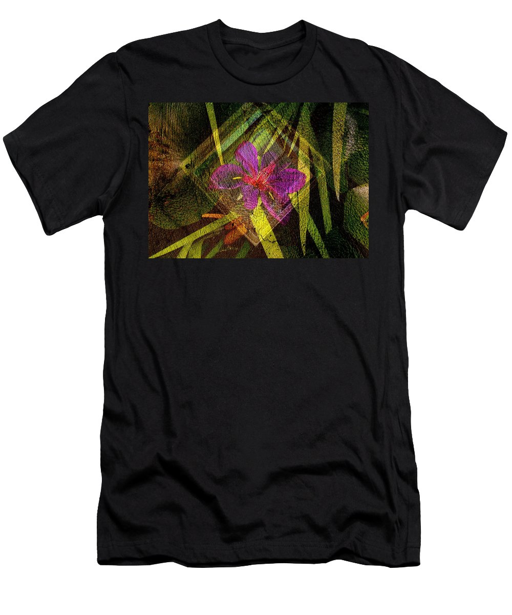 Window Men's T-Shirt (Athletic Fit) featuring the digital art At The Window....... by Derick Burke