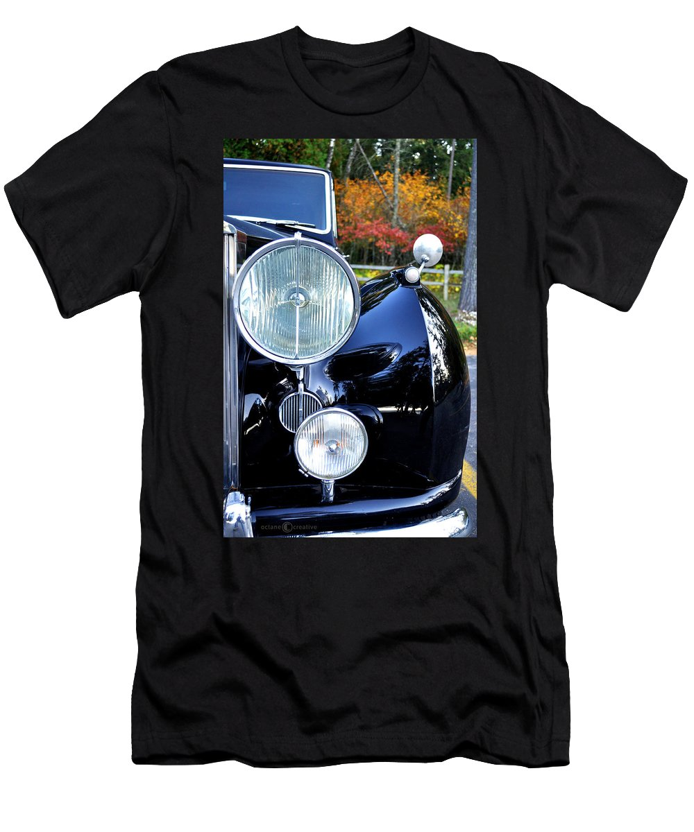 Car Men's T-Shirt (Athletic Fit) featuring the photograph Autumn Rolls by Tim Nyberg