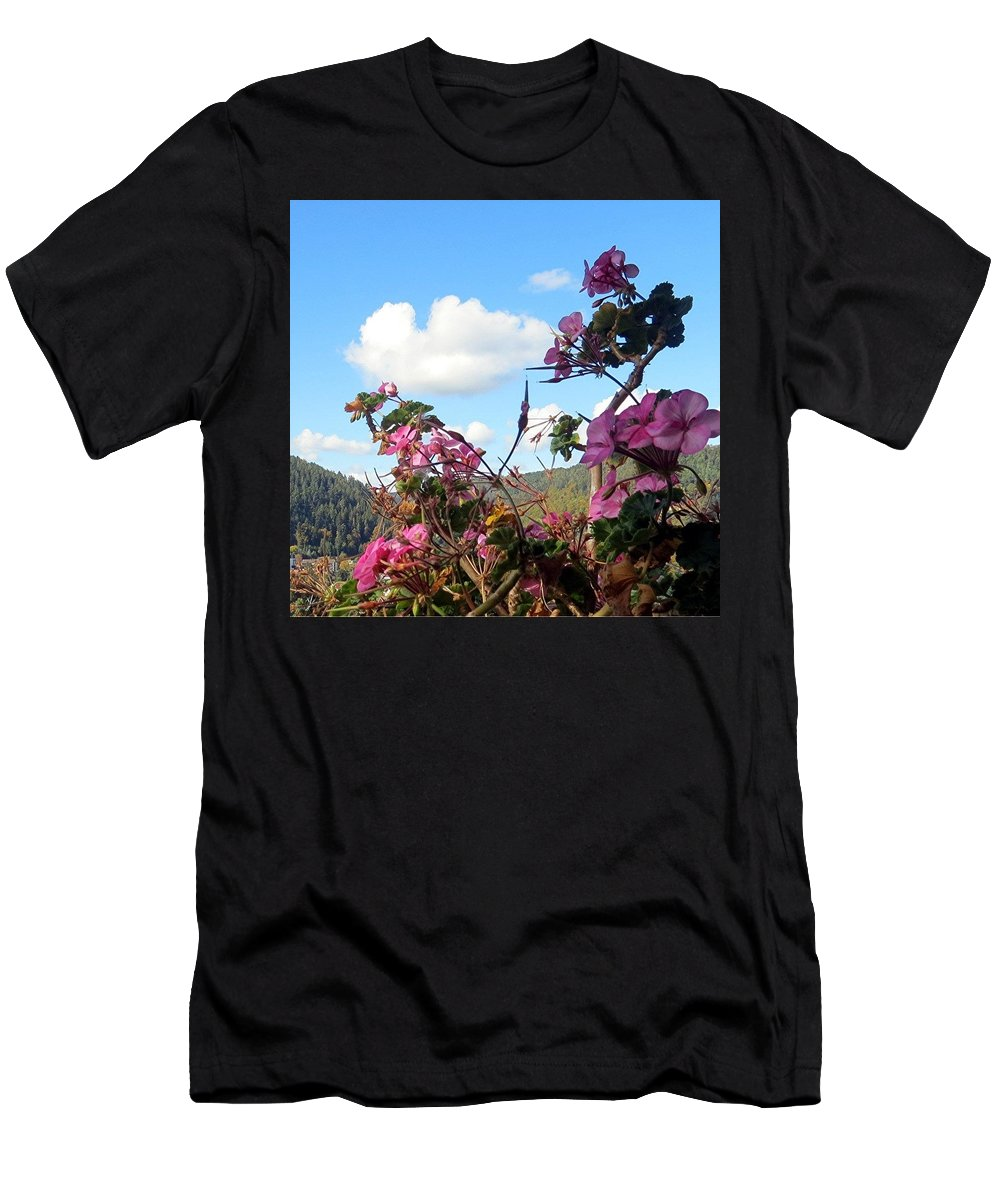 Autumn Men's T-Shirt (Athletic Fit) featuring the photograph Autumn View 2 by Barron Holland