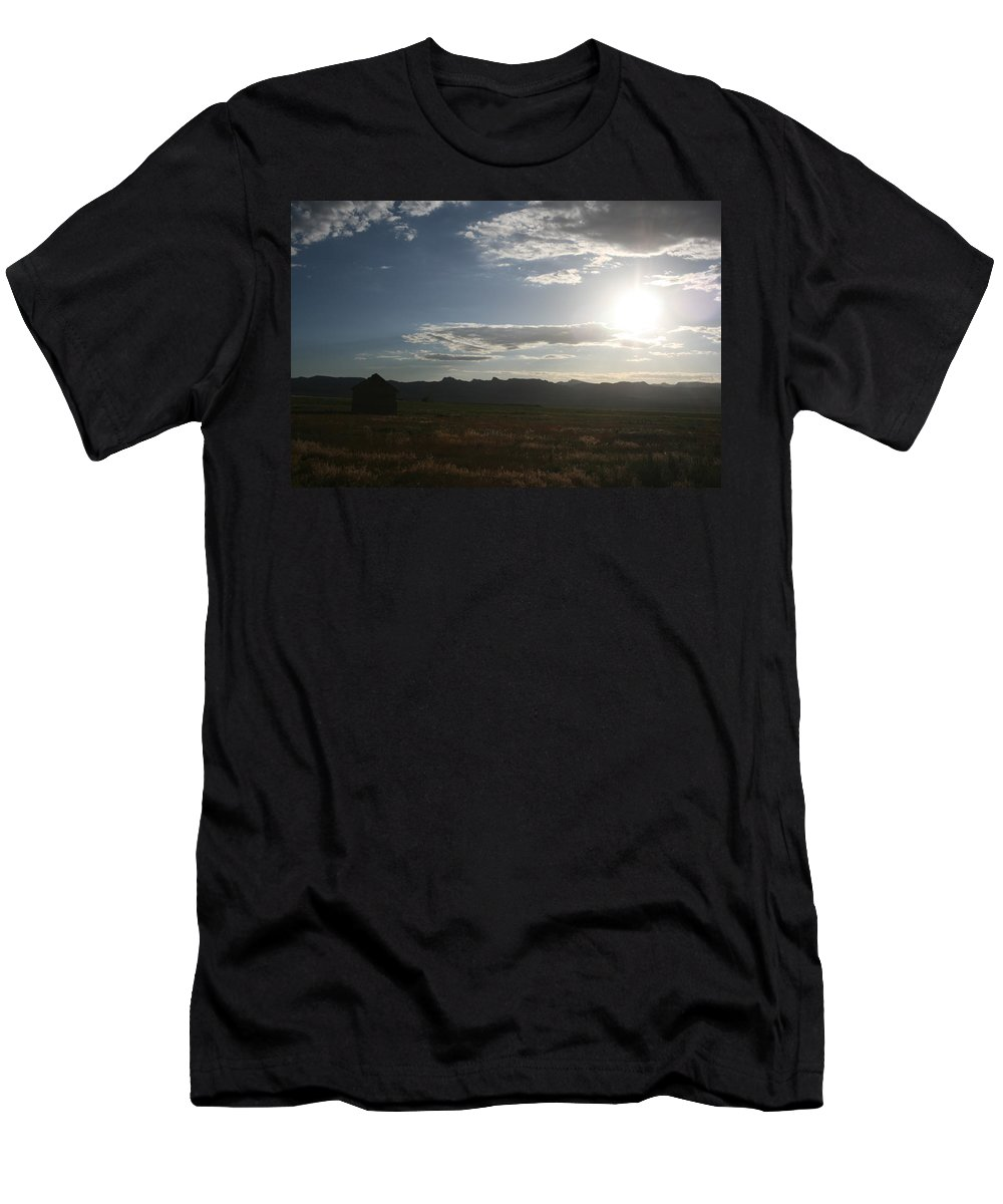 Lonely Men's T-Shirt (Athletic Fit) featuring the photograph Away by Ashlyn Yates