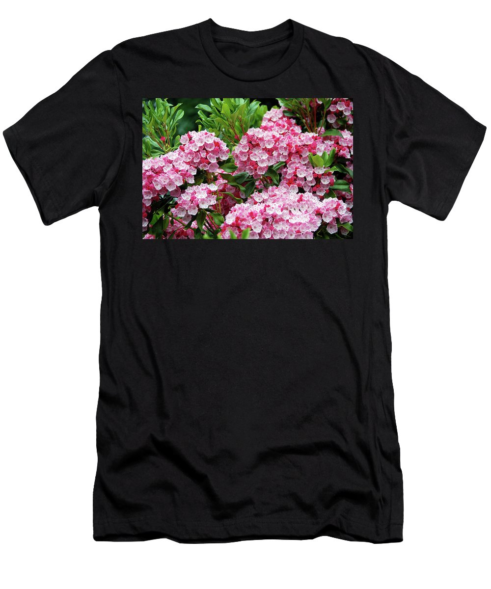 Men's T-Shirt (Athletic Fit) featuring the photograph Azalea Cousin -2 by Christine Dellosso